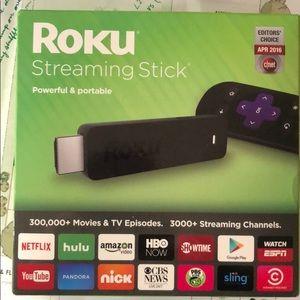 Un-opened Roku streaming stick